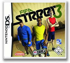 FIFA Street 3 DS cover (YF3P)