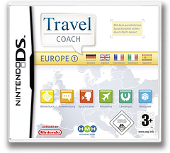 Travel Coach - Europe 1 DS cover (YJ5P)