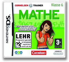 Cornelsen Trainer - Mathe - Klasse 6 DS cover (YOZP)