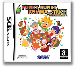 Punkt, Punkt, Komma, Strich - Die Pinselparty DS cover (YPIP)