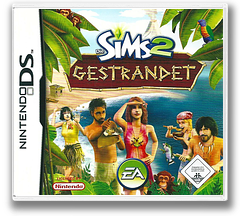 The Sims 2 - Castaway DS cover (YS2P)