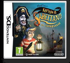 Kaptajn Sabeltand og ildprøverne DS cover (B49P)