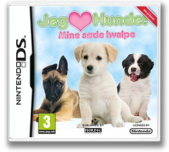 Jeg Elsker Hunde! Mine søde hvalpe DS cover (BIIX)