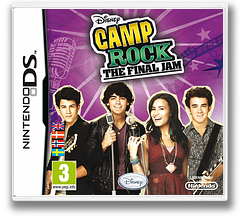 Camp Rock - The Final Jam DS cover (VCMV)