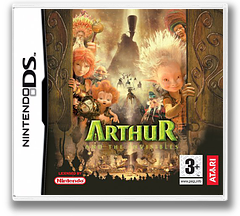 Arthur and the Minimoys DS cover (A2MP)