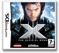 X-Men - The Official Game DS cover (A3XP)