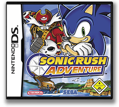 Sonic Rush Adventure DS cover (A3YD)