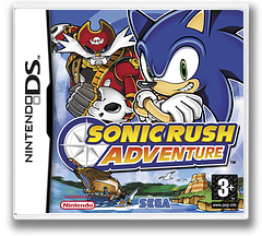 Sonic Rush Adventure DS cover (A3YP)