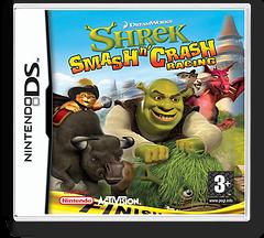 Shrek - Smash n' Crash Racing DS cover (A4IP)