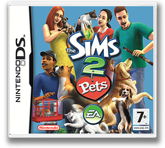 The Sims 2 - Pets DS cover (A4OP)