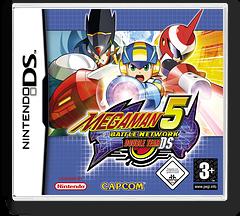 Mega Man Battle Network 5 - Double Team DS DS cover (A5TP)
