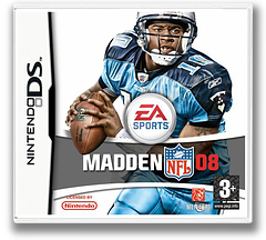 Madden NFL 08 DS cover (A5UP)