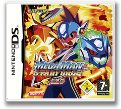 Mega Man Star Force - Leo DS cover (A6BP)