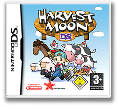 Harvest Moon DS DS cover (ABCP)