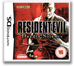 Resident Evil - Deadly Silence DS cover (ABHP)