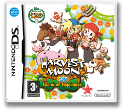 Harvest Moon DS - Island of Happiness DS cover (ABJP)