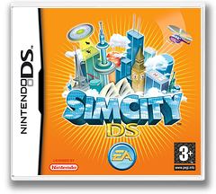 SimCity DS DS cover (AC3P)