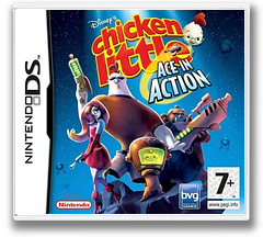 Chicken Little - Ace in Action DS cover (AC4P)