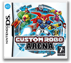 Custom Robo Arena DS cover (ACLP)