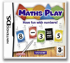 Maths Play - Have Fun with Numbers! DS cover (AECP)
