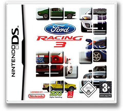 Ford Racing 3 DS cover (AF3P)