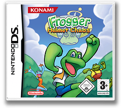Frogger - Helmet Chaos DS cover (AFGP)