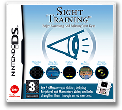 Sight Training - Enjoy Exercising and Relaxing Your Eyes DS cover (AG3P)