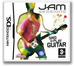 Jam Sessions - Sing & Play Guitar DS cover (AHDP)