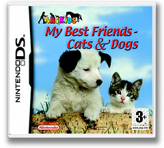 My Best Friends - Dogs & Cats DS cover (AHJP)