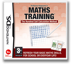Professor Kageyama's Maths Training - The Hundred Cell Calculation Method DS cover (AIZP)