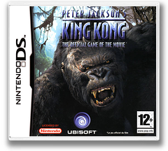 Peter Jackson's King Kong - The Official Game of the Movie DS cover (AKQP)