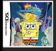 SpongeBob's Atlantis SquarePantis DS cover (AL3X)