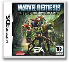 Marvel Nemesis - Rise of the Imperfects DS cover (AMVP)