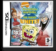 SpongeBob SquarePants and Friends Unite! DS cover (ANUP)