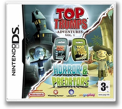 Top Trumps - Horror & Predators DS cover (AOFP)