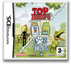 Top Trumps - Dogs & Dinosaurs DS cover (AOQP)
