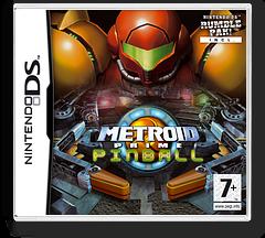 Metroid Prime Pinball DS cover (AP2P)