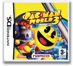Pac-Man World 3 DS cover (APWP)