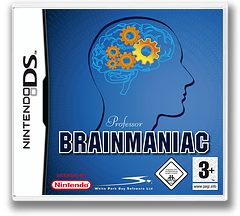 Professor Brainmaniac DS cover (AQEP)