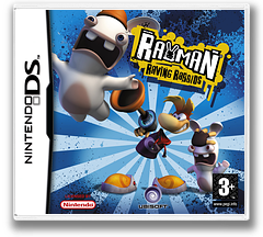 Rayman - Raving Rabbids DS cover (AR5P)