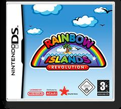 Rainbow Islands Revolution DS cover (ARIP)