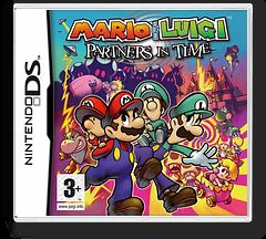 Mario & Luigi - Partners in Time DS cover (ARMP)