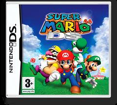 Super Mario 64 DS DS cover (ASMP)