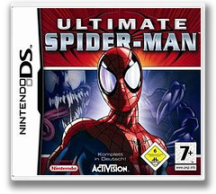Ultimate Spider-Man DS cover (AUSD)