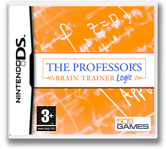 The Professor's Brain Trainer - Logic DS cover (AUTP)