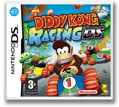 Diddy Kong Racing DS DS cover (AWDP)
