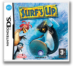 Surf's Up DS cover (AXUP)