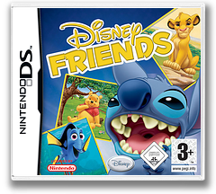 Disney Friends DS cover (AXVD)