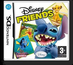 Disney Friends DS cover (AXVI)