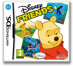 Disney Friends DS cover (AXVP)